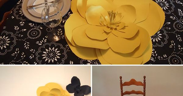 Adorable DIY Paper Flower Tutorial