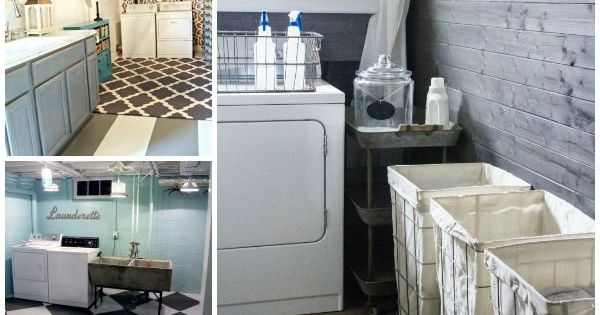 5 Ways To Redo A Basement Laundry Room Laundry Rooms