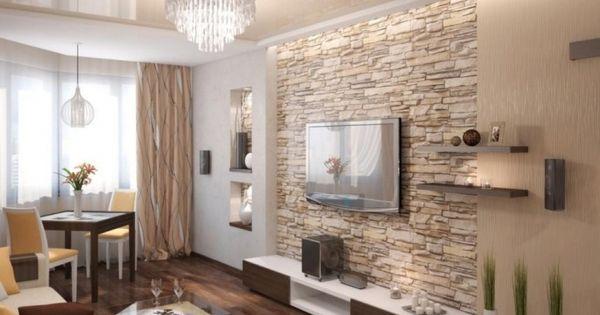 steinwand wohnzimmer modern steinwand wohnzimmer modern. Black Bedroom Furniture Sets. Home Design Ideas