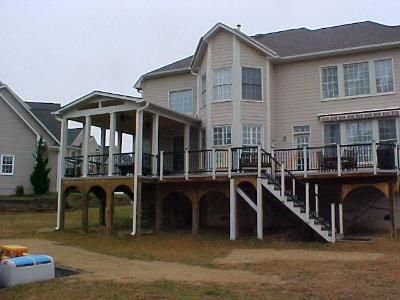 Decks And Porches Porch And Deck In Durham Covered