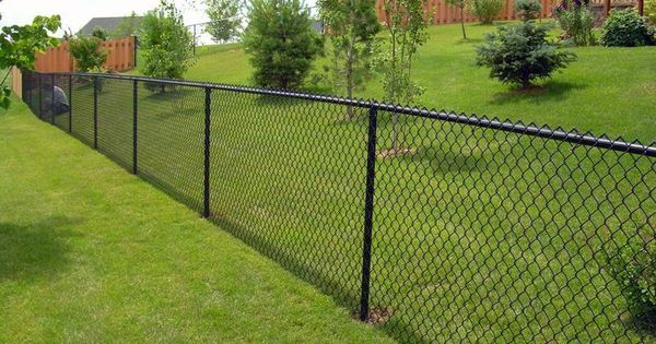 chain link fencing is a top choice because the costs are very low moreover installation is. Black Bedroom Furniture Sets. Home Design Ideas