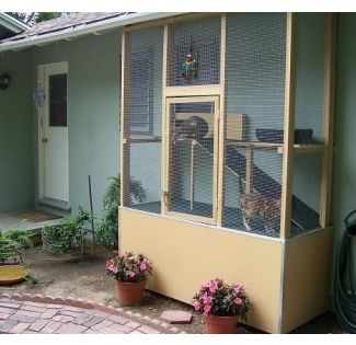 Outdoor Cat Enclosures For Sale Ideas On Foter Outdoor Cat Enclosure Cat Enclosure Cat Cages