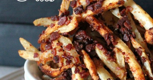 Bacon Fries | Food I Bacon | Pinterest | Bacon Fries, Bacon and Posts