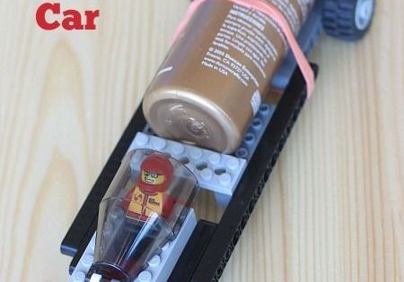 Build A Rocket Powered Lego Car Rocket Power And Lego