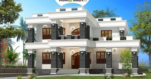 Modern Spacious Box House Design In 2920 Sq Ft Indian