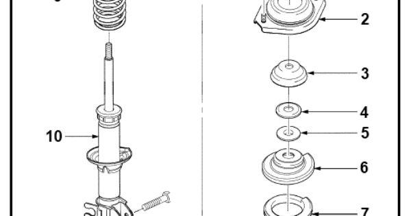 amortiguador y sus componentes