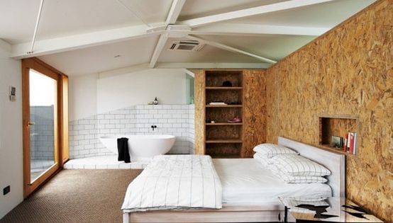 osb platten innenausbau wandbeplankung osb m bel furniture design pinterest kleines. Black Bedroom Furniture Sets. Home Design Ideas