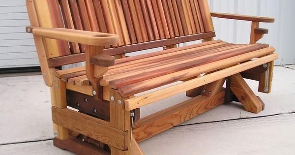 Texas Cedar Glider | For the Home | Pinterest | Cedar ...