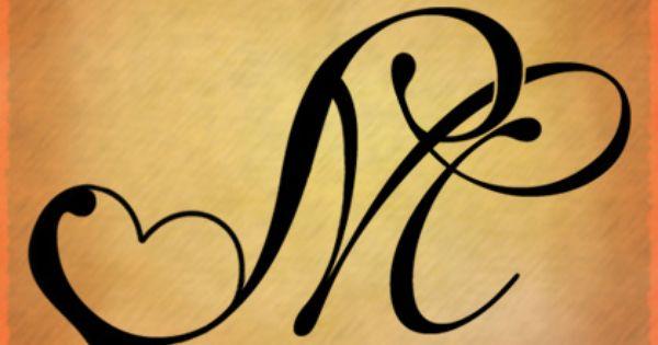 7 creazioni decorative per tatuaggi: maiuscola M e simboli ...