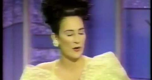 K D Lang Sings Miss Chatelaine And Is Interviewed By Arsenio Hall