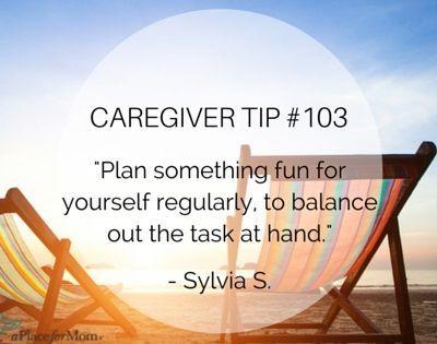 Caregiver Tip 103 Plan Something Fun Caregiver Quotes Caregiver Elderly Care