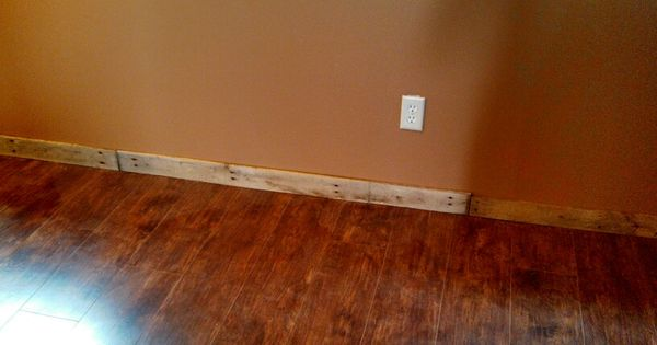 Pallet Base Trim Project Pinterest Pallets House
