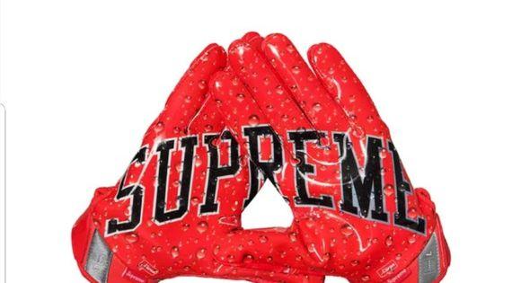 Supreme Nike Vapor Jet 4 0 Football Gloves Nike Vapor Football Gloves Supreme Accessories