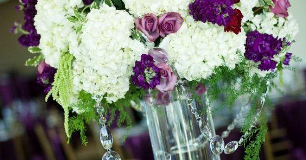 Royal Gem Toned Wedding Flowers At The Capitol View Room Sacramento