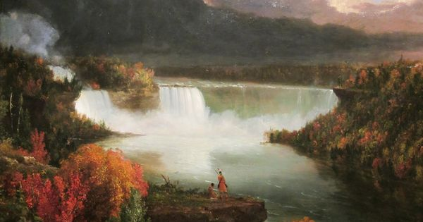 Thomas Cole Niagara Falls 1830 Art Pinterest