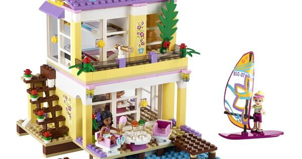 lego friends 41037 jeu de construction la villa sur. Black Bedroom Furniture Sets. Home Design Ideas