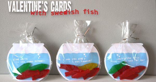 swedish fish valentines day cards