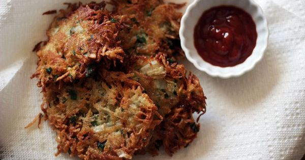 Crispy Eggplant Fritters With Smoked Mozzarella Recipe — Dishmaps