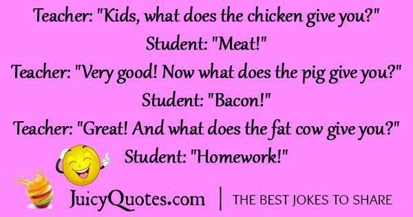 School Joke Of The Day Funny Jokes For Kids Funny School Jokes Funny Joke Quote