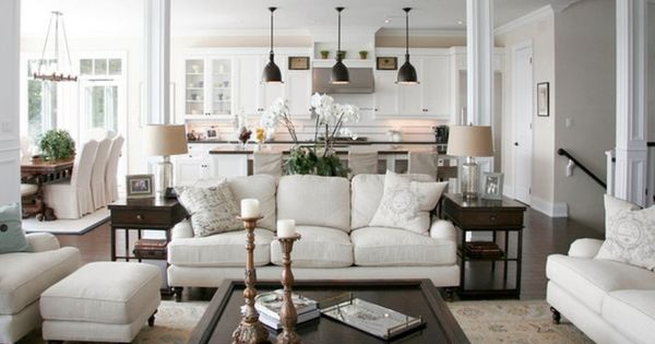Sleek Traditional White Living Room Design Idea With Darkwood Coffee Table And Beautiful Schillig Sofa Add With Brass Candlesticks 728x484  728×u2026