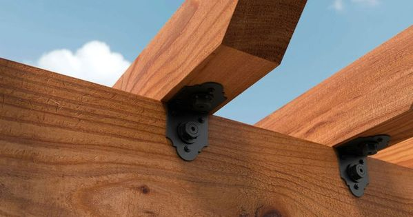 Hurricane Clips Reinforce Wood Frame Buildings High Wind Velocities From A Hurricane Cause Uplift Forces To Roofs Bre Hurricane Clips Roof Trusses Clip Frame