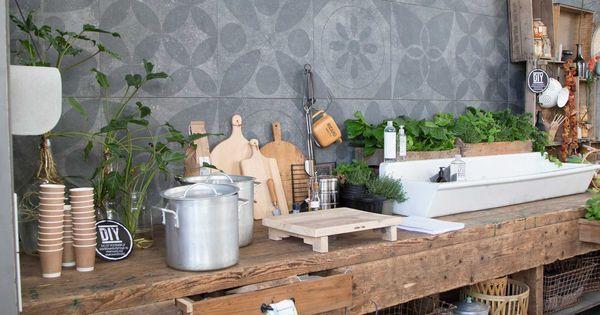 oude werkbank vtwonen - Google zoeken  keukens  Pinterest  야외 생활, 부엌 ...