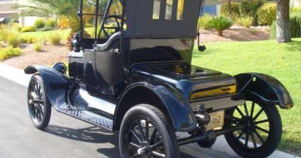 1918 Ford Model T Roadster Classic Cars Trucks Car Ford Hot