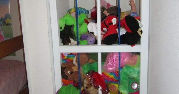 DIY Zoo Cage for stuffed Stuffed Animals| http://motorbike62.blogspot.com