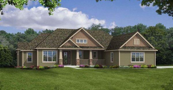 Camden ranch home design, Joseph Douglas Homes, Milwauke and ...