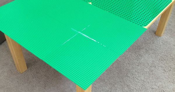 A lego table i made for my daughter 10 table from yard for 10 in 1 game table toys r us
