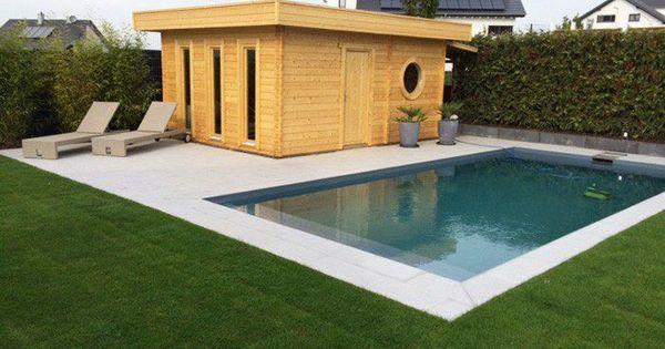 Nice Wellness Garten mit Sauna und Swimmingpool Eine Sauna f r den Garten Pinterest Saunas