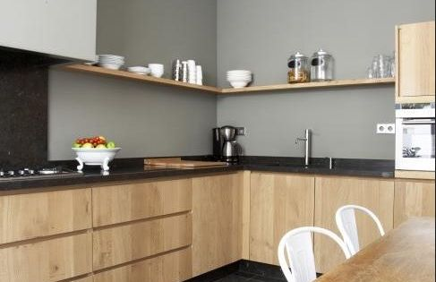 Keuken via rtl woonmagazine cuisine pinterest murs gris murs de cuisine gris et gris - Onderwerp deco design keuken ...