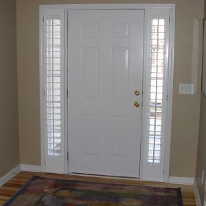 Blinds For Small Windows Next To Front Door Blinds For Small