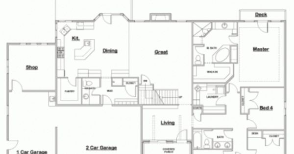 great floor plan even as a onestory likes four