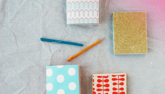 no sew notebook