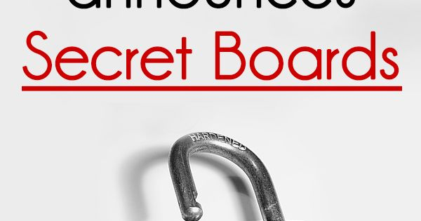 Finally! Here's how to create PRIVATE boards. With Christmas approaching, Pinterest thought