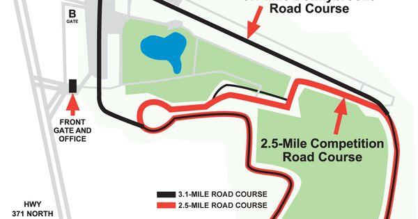 Brainerd International Raceway Racing Circuits
