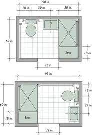 Image Result For Bathroom Lay Out Dimensions 5 Feet By 8 Feet Small Bathroom Floor Plans Small Bathroom Layout Bathroom Plans