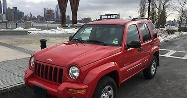 Ebay 2002 Jeep Liberty Limited 4dr 4wd Suv 2002 Jeep Liberty