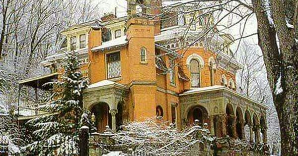 The Henry Packer Mansion 1874 In Jim Thorpe Pa Victorian Homes Architecture Mansions