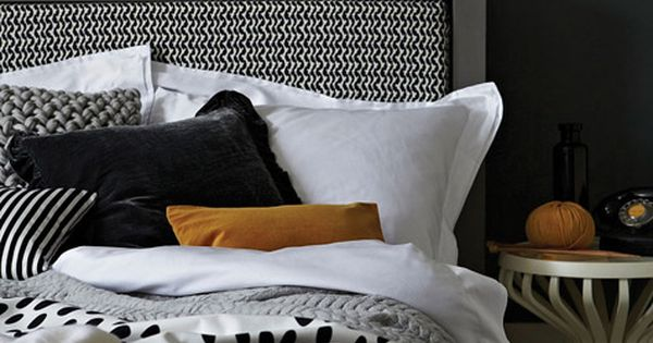 Retro, chic and inviting... with warm rich textures and patterns in an