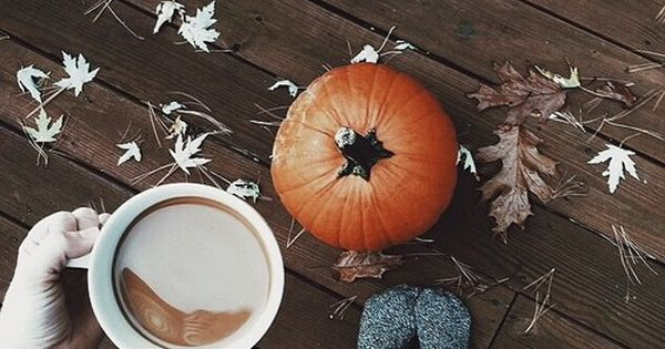 ℱaℓℓ ❤ | fall mornings | fall and coffee | pumpkins and