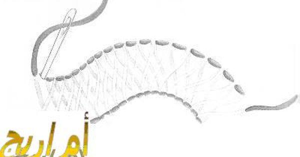 تعلم غرز التطريز بالصور تطريز يدوي على القماش بالخيط غرز تطريز بسيطة تعليم التطريز اليدوي للمبتدئين Kntosa Com 20 19 155 Resin Art Painting Resin Art Crochet