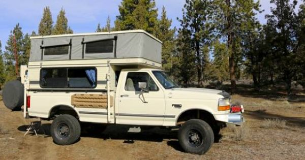 Expedition Vehicle 1996 Ford F 350 7 3 1997 Four Wheel Camper