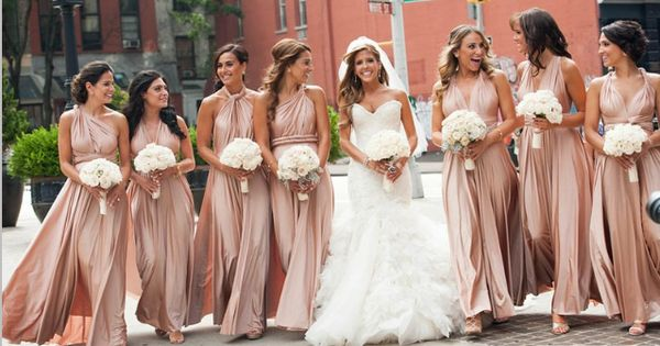 Bridesmaids Wear Twobirds In New York City …