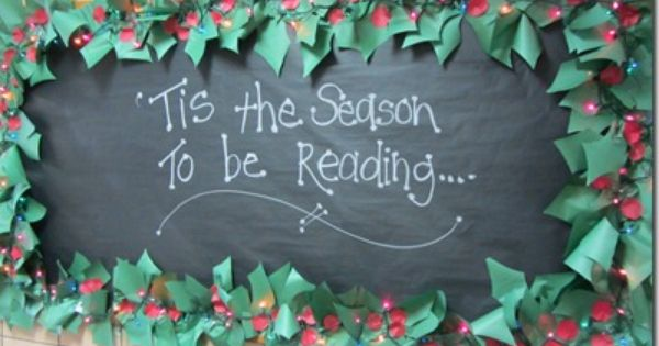 A Festive Greeting It S The Season To Be Reading Cute