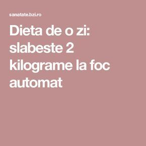 pierderea în greutate de urgență în 3 zile)