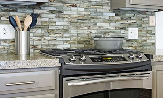 10 kitchen trends here to stay recycled glass tile 15 unique kitchen backsplash ideas