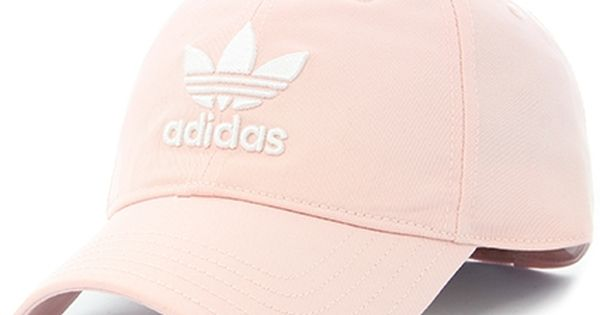 adidas Trefoil Relaxed Dad Hat Pink
