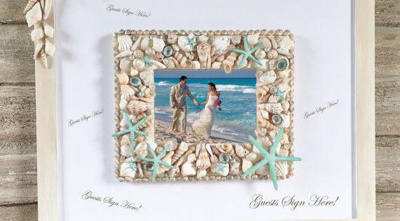 Beach Wedding Guest Book Alternative Guest Book Picture